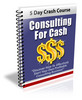 Thumbnail Consulting For Cash - 5 Day Crash Course With PLR